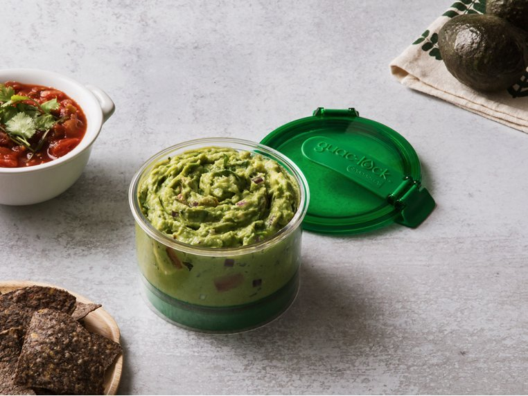 Guacamole Preservation Container by Guac-Lock - 4