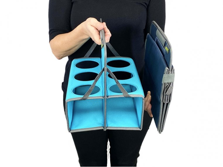 Reusable 6-Cup Portable Drink Carrier by meori - 4