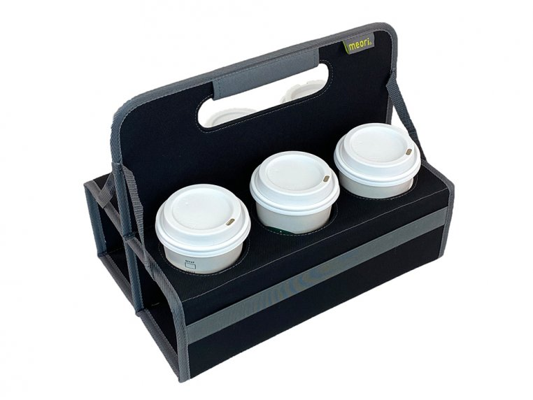 Reusable 6-Cup Portable Drink Carrier by meori - 1