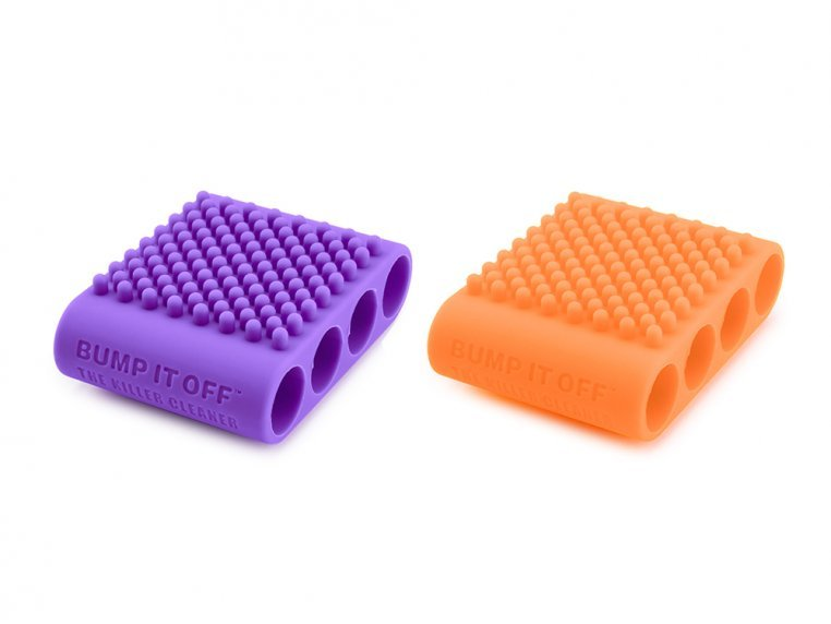 Silicone Cleaning Sleeves - Set of 2 by BUMP IT OFF - Goddess of Gadgets - 6