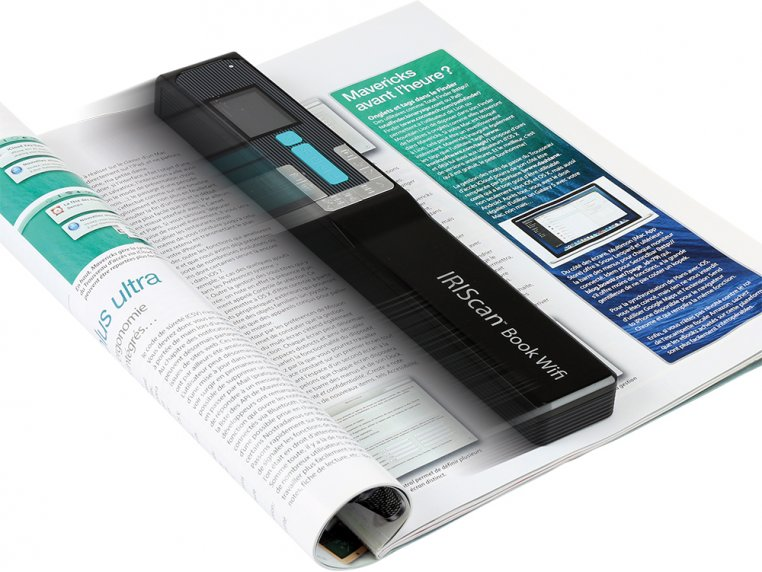 Wi-Fi Connected Portable Scanner by IRIS - 4