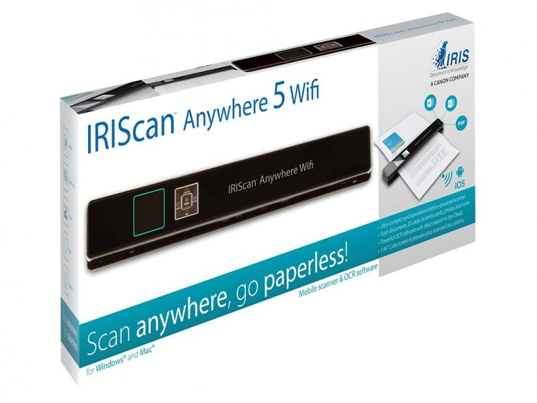 Wi-Fi Connected Portable Scanner by IRIS - 5