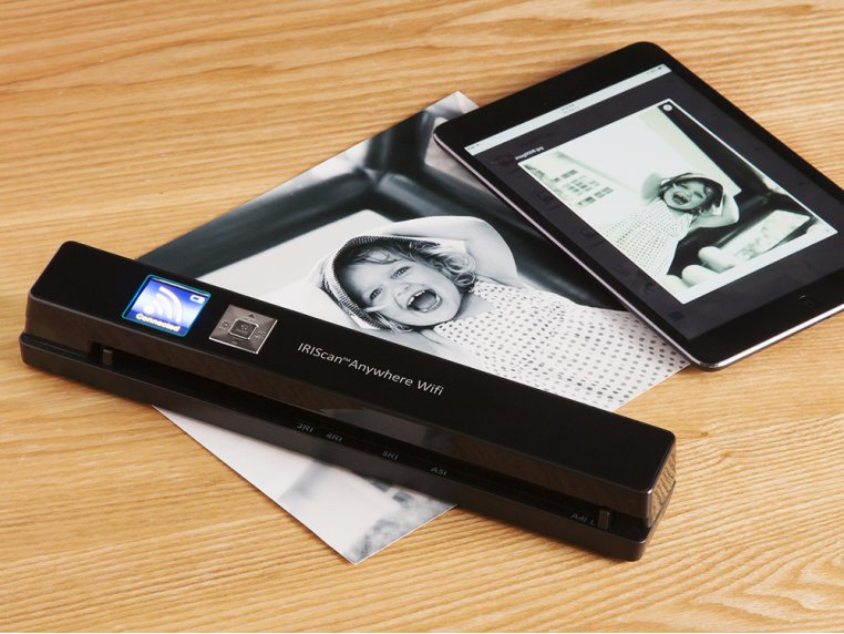 Wi-Fi Connected Portable Scanner by IRIS - 1