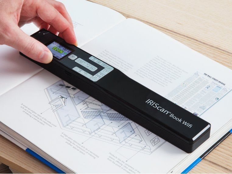 Wifi Connected Portable Book 5 Scanner by IRIS - 1