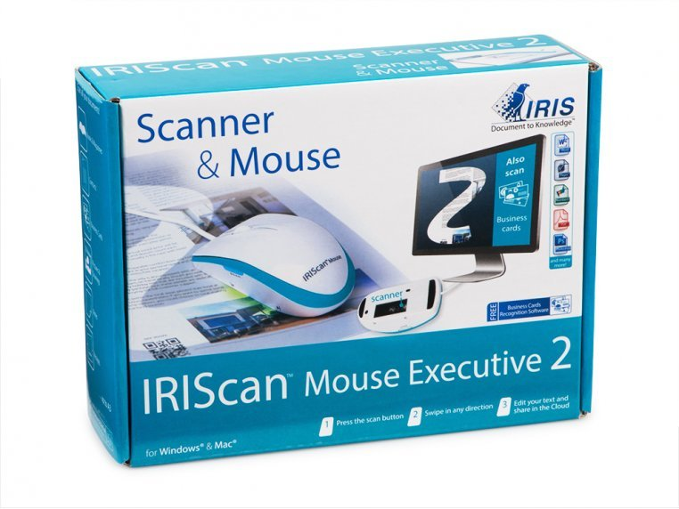 2-in-1 Mouse Scanner - Wired by IRIS - 3