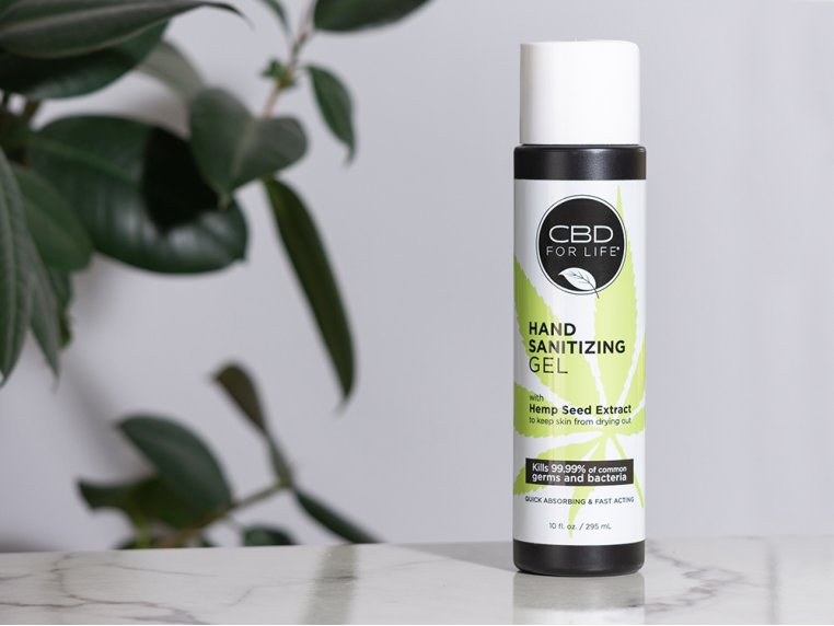 Hemp Seed Extract Hand Sanitizer by CBD for Life - 2