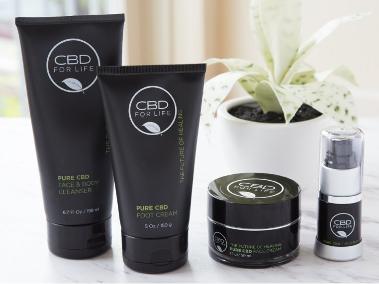 Cannabidiol Infused Body Care by CBD for Life - 1