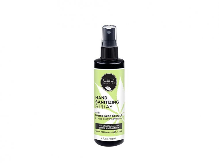 Hemp Seed Extract Hand Sanitizer by CBD for Life - 6