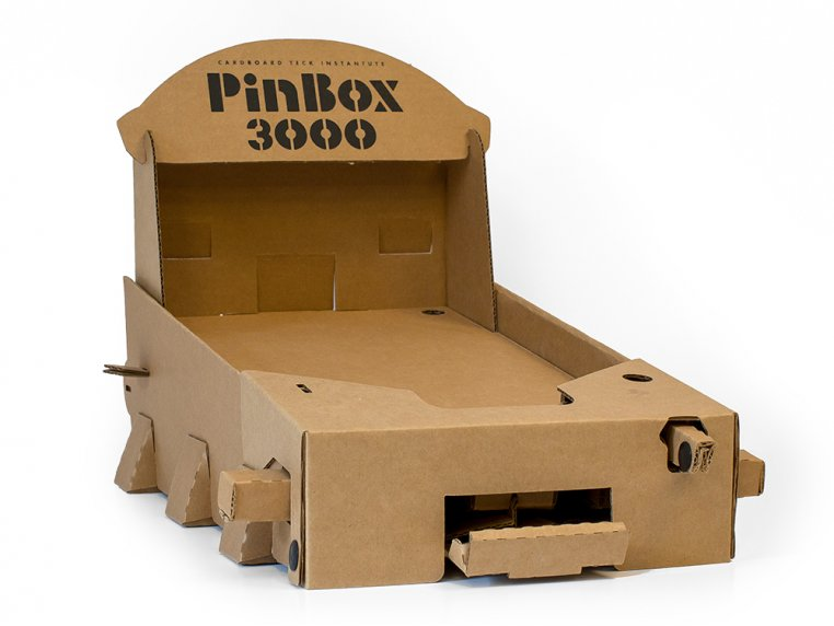 PinBox 3000 Pinball Machine Kit by Cardboard Teck - 6