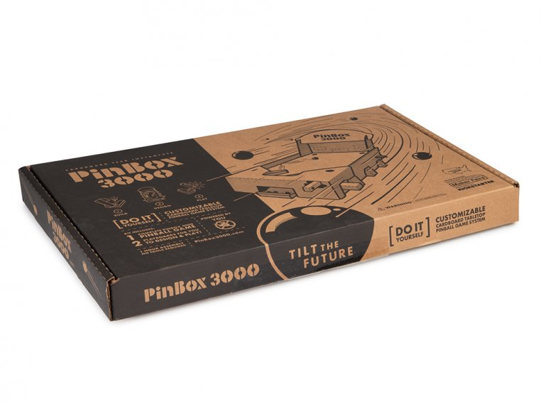 PinBox 3000 Pinball Machine Kit by Cardboard Teck - 7