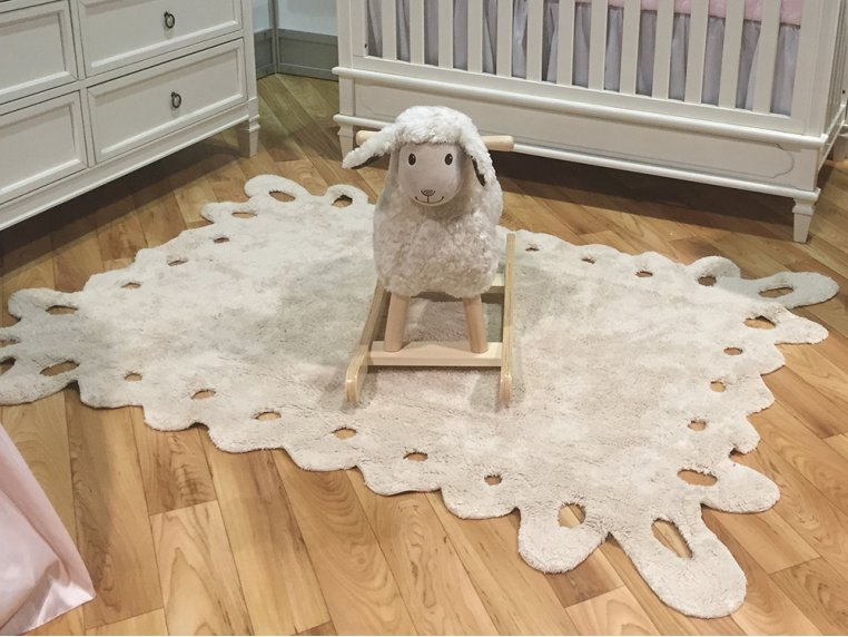 Lace Design Rug by Lorena Canals - 1