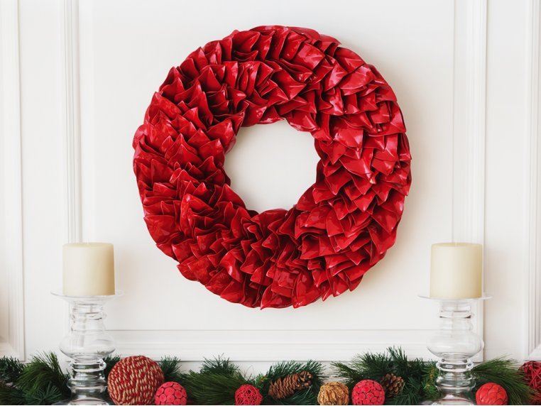 Lacquered Magnolia Leaf Wreath by The Magnolia Company - 2