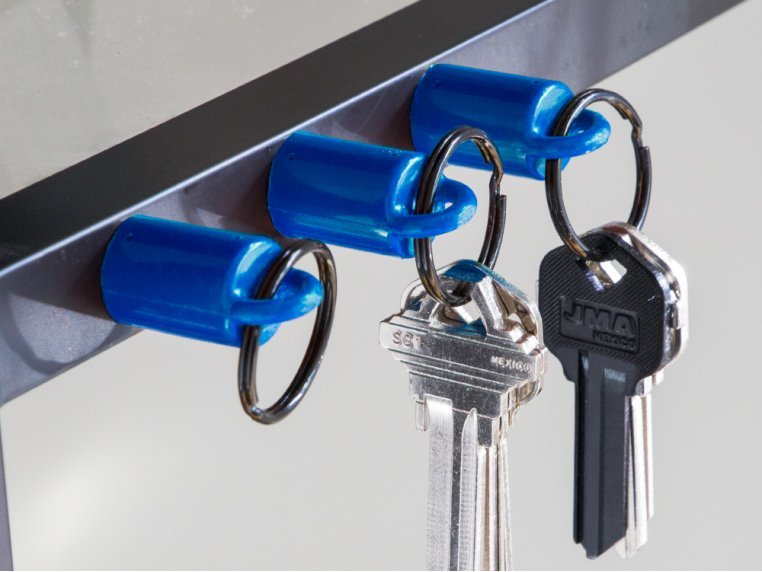 Powerful Key Ring Magnet 3-Pack by MagnetPAL - 1