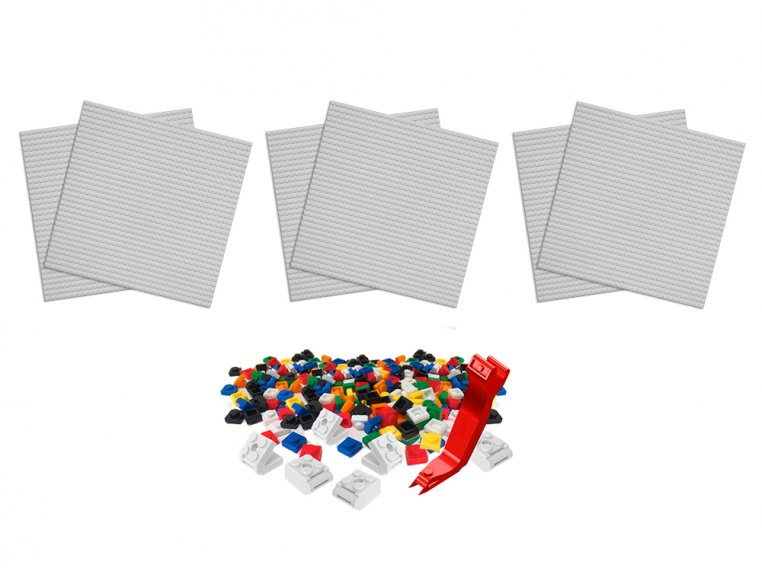 Removable Tile Building Surface Kit by BRIK - 6