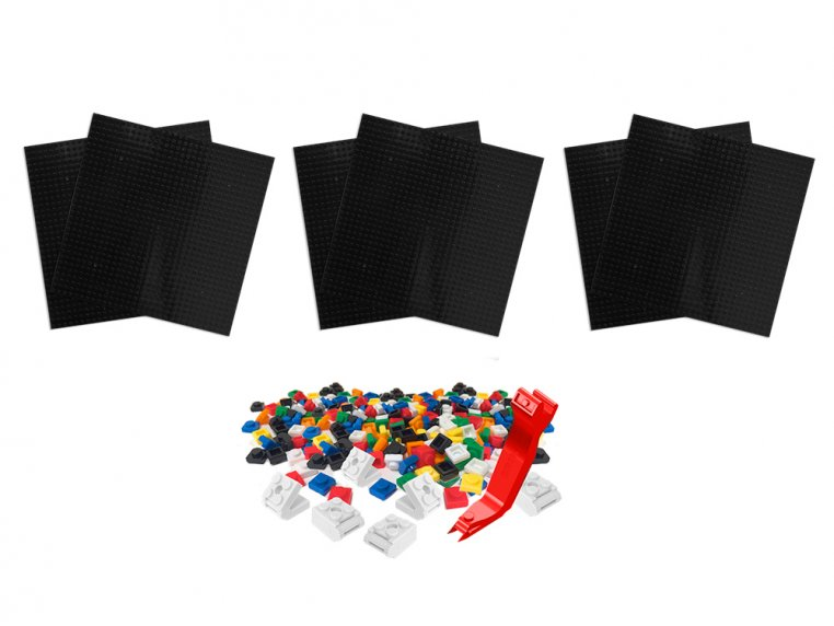 Removable Tile Building Surface Kit by BRIK - 8