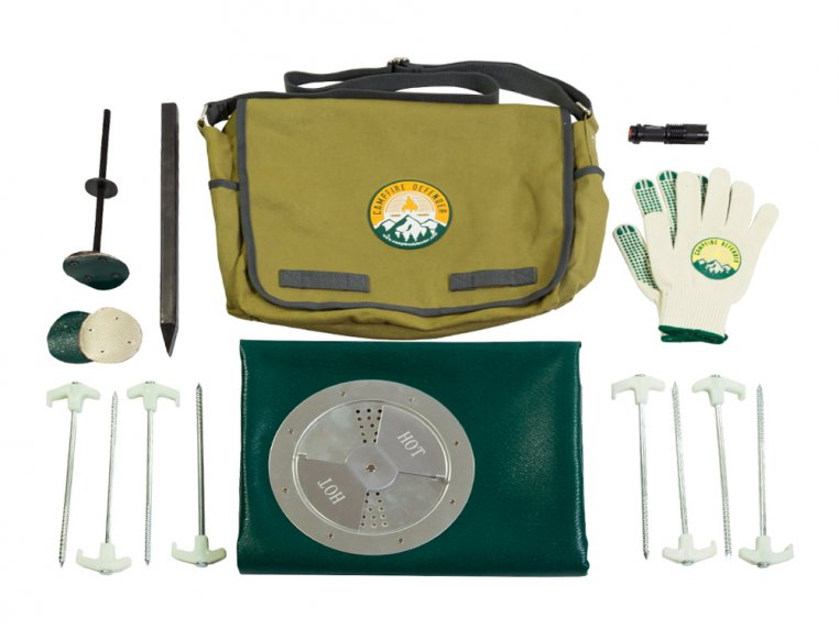 Campfire Safety Cover Pro Kit by Campfire Defender - 4