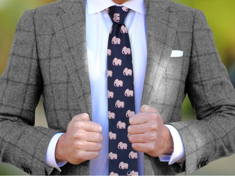 Embroidered Silk Ties by Soxfords - 2