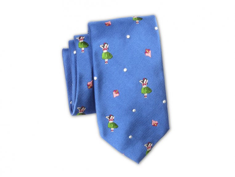 Embroidered Silk Ties by Soxfords - 6