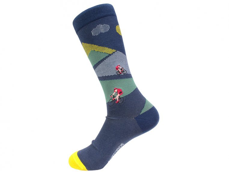 Pima Cotton Embroidered Socks by Soxfords - 15