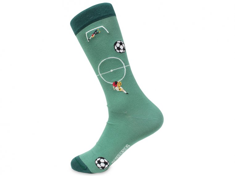 Pima Cotton Embroidered Socks by Soxfords - 16