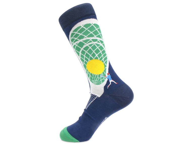 Pima Cotton Embroidered Socks by Soxfords - 18