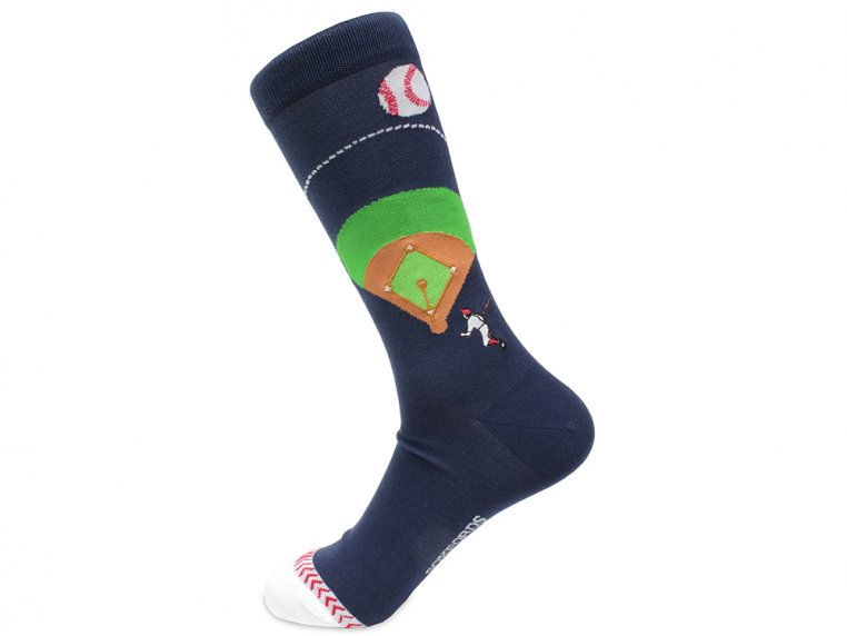 Pima Cotton Embroidered Socks by Soxfords - 22