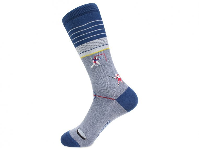 Pima Cotton Embroidered Socks by Soxfords - 23