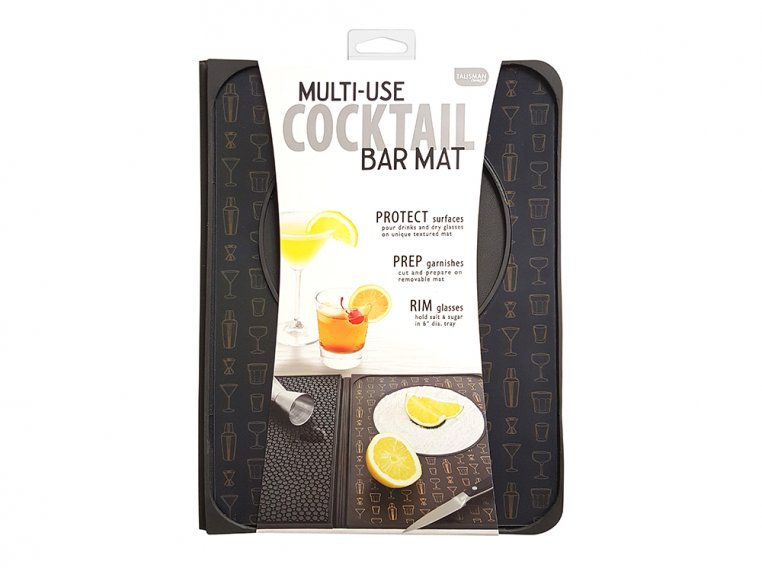 Multi-Use Cocktail Bar Mat by Talisman Designs - 6