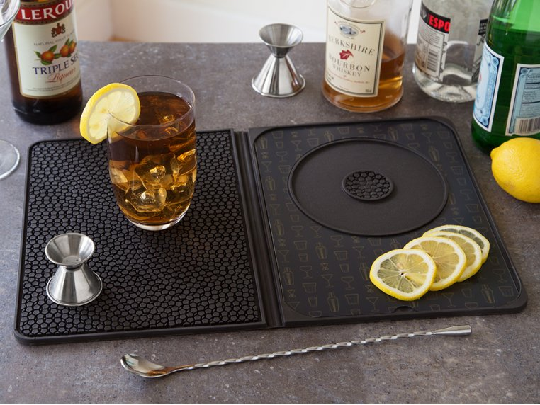 Multi-Use Cocktail Bar Mat by Talisman Designs - 1