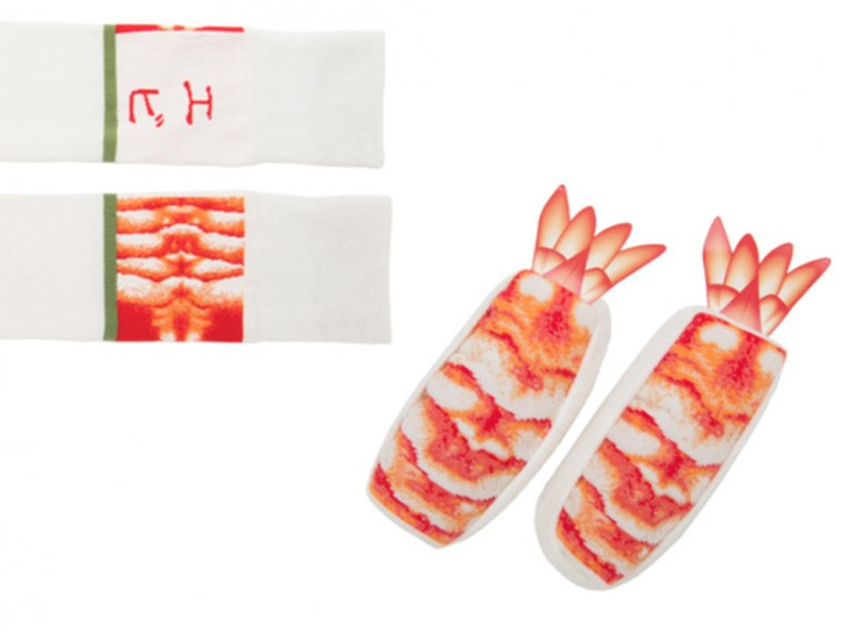Knitted Sushi Socks by Sukeno Socks - 4
