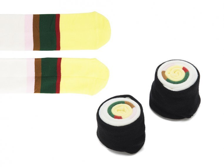 Knitted Sushi Socks by Sukeno Socks - 5