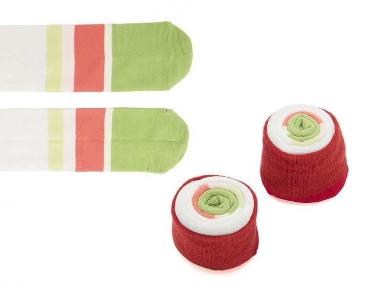 Knitted Sushi Socks by Sukeno Socks - 6