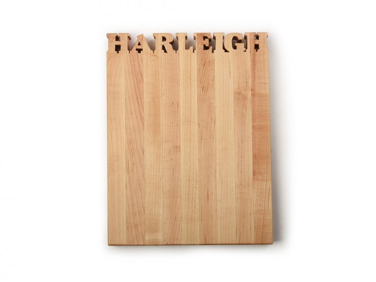 Small Vertical Personalized Cutting Board by Words with Boards - 3