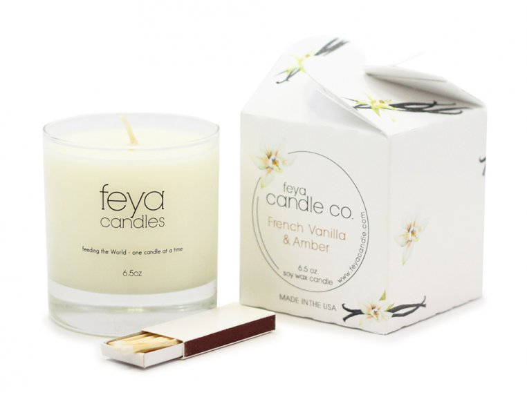 All-Natural Soy Wax Candle by Feya Candle Co. - 7
