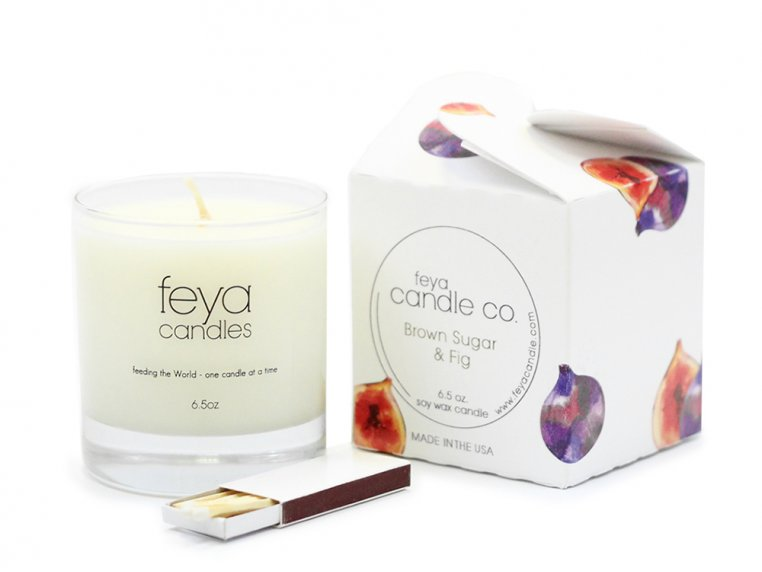 All-Natural Soy Wax Candle by Feya Candle Co. - 8