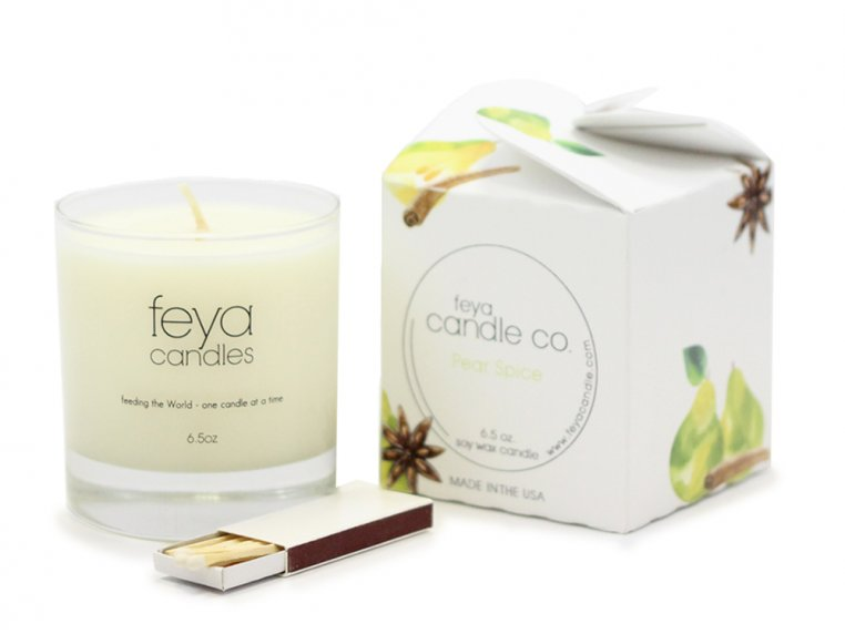 All-Natural Soy Wax Candle by Feya Candle Co. - 9