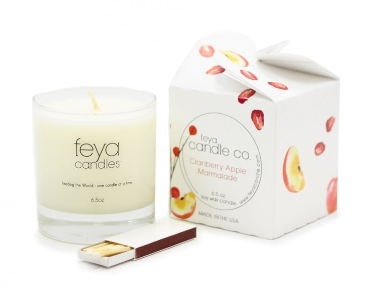All-Natural Soy Wax Candle by Feya Candle Co. - 10