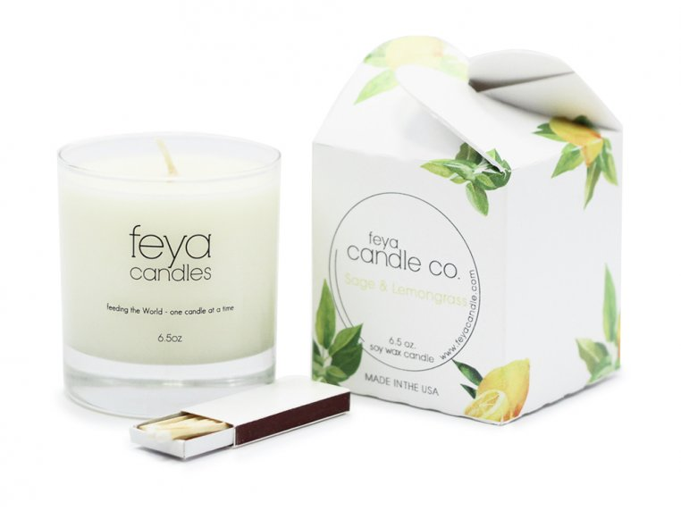 All-Natural Soy Wax Candle by Feya Candle Co. - 11