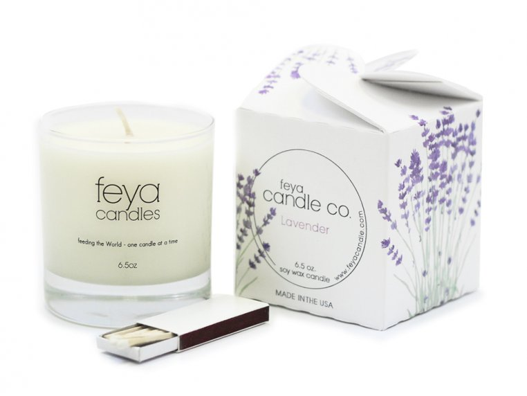All-Natural Soy Wax Candle by Feya Candle Co. - 12