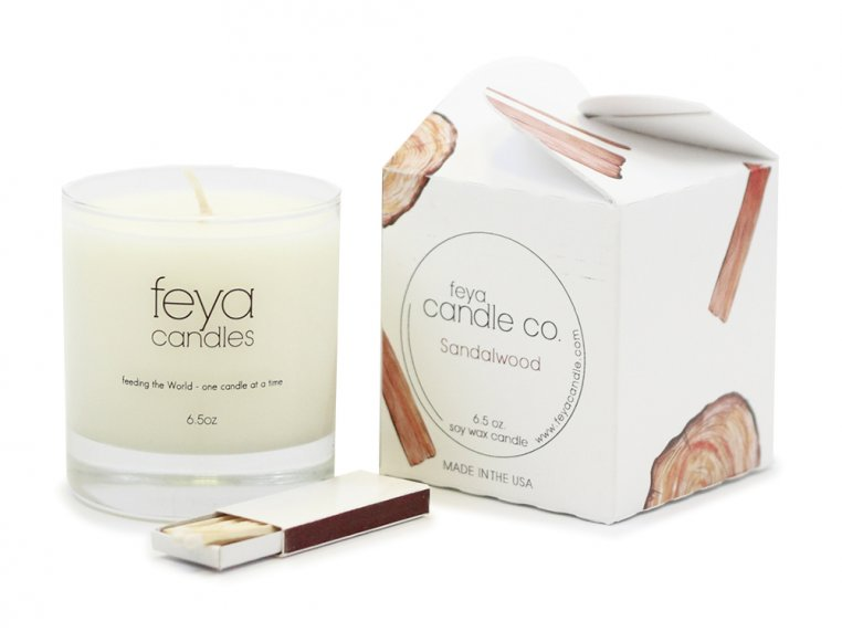 All-Natural Soy Wax Candle by Feya Candle Co. - 13