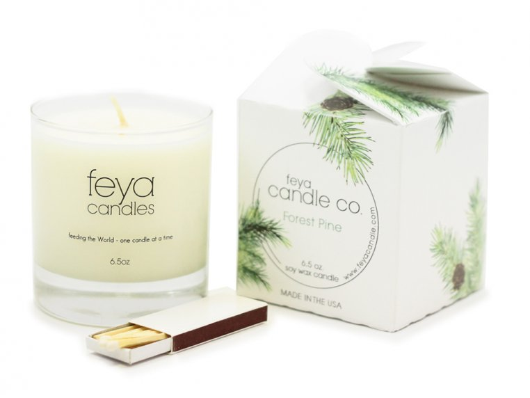 All-Natural Soy Wax Candle by Feya Candle Co. - 14