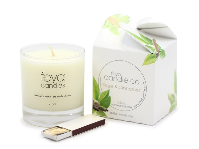 All-Natural Soy Wax Candle by Feya Candle Co. - 16