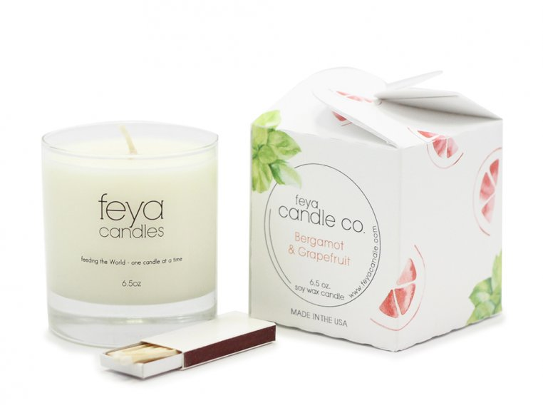 All-Natural Soy Wax Candle by Feya Candle Co. - 17
