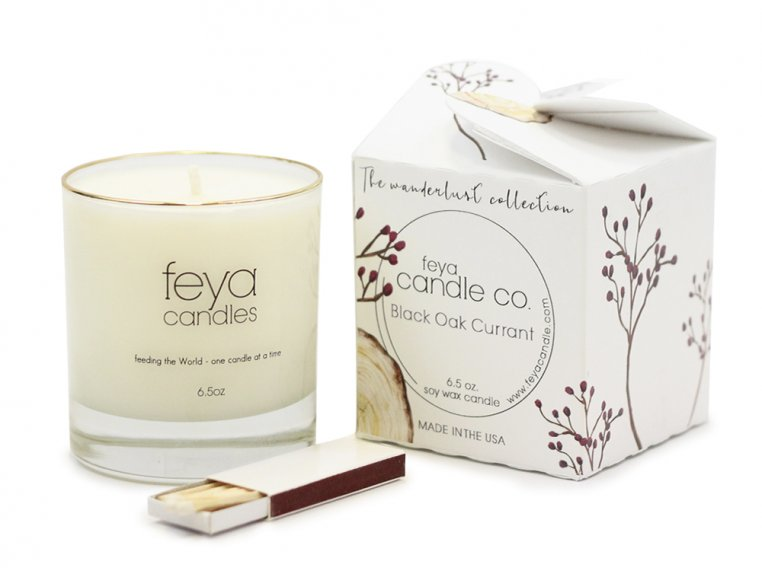 All-Natural Soy Wax Candle by Feya Candle Co. - 18
