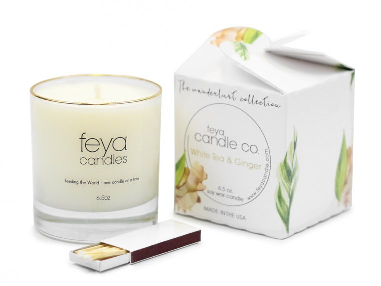 All-Natural Soy Wax Candle by Feya Candle Co. - 20