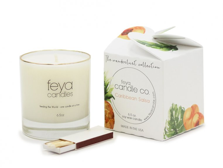 All-Natural Soy Wax Candle by Feya Candle Co. - 21