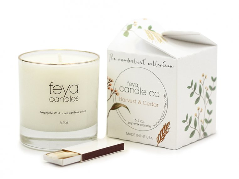 All-Natural Soy Wax Candle by Feya Candle Co. - 22