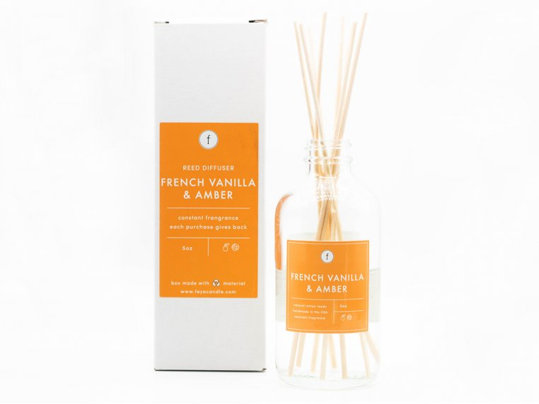 Scented Reed Diffuser - 2-Pack by The Feya Co. - 2