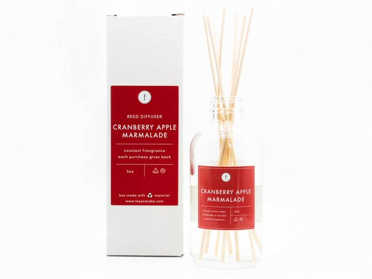 Scented Reed Diffuser - 2-Pack by The Feya Co. - 5