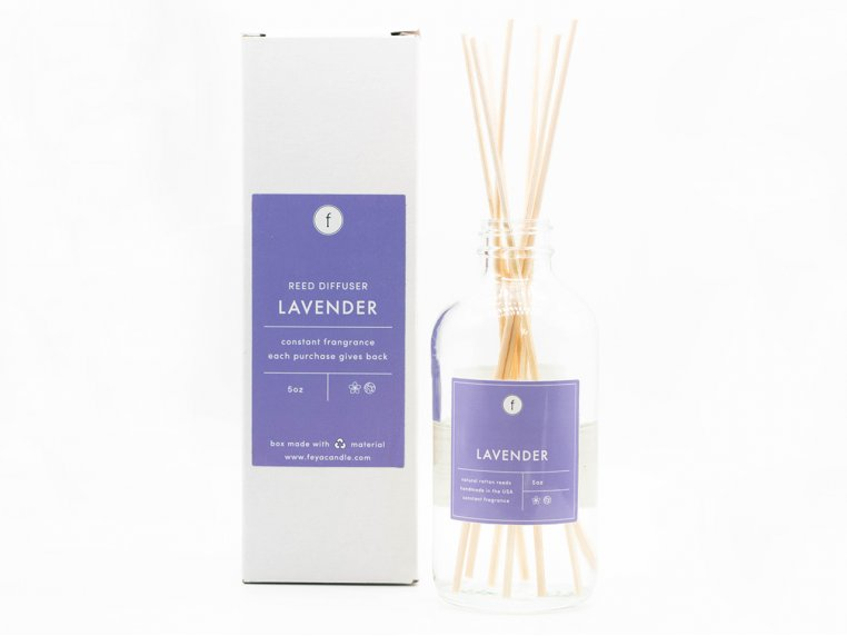 Scented Reed Diffuser - 2-Pack by The Feya Co. - 7